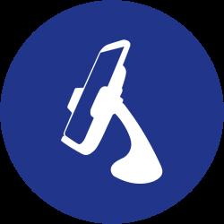 Soportes para celulares y tablet